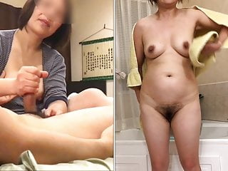 Asian Mature Wife Sucks and..