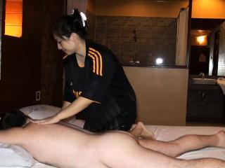 Chunky butt Asian amateur..
