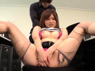 Yumi Maeda fucked by her te..