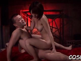 Kinky Mayu Nozomi endures..