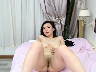 Asian camgirl with nice pair..