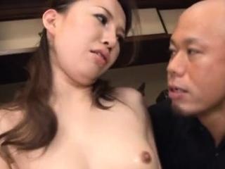 Playful gal Keiko Takikawa..