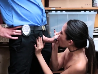 Rough office sex first time..