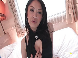 Beautiful Japanese MILF with..