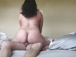 Asian Slut Wife Riding Cock..