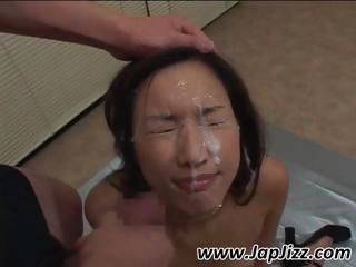 Hot Asian girl gets her..