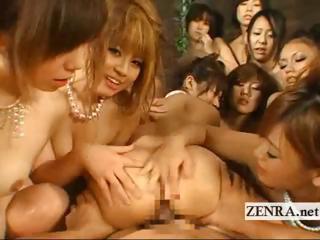 POV crazy Japanese soapland..