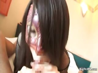 Busty asian babe goes crazy..