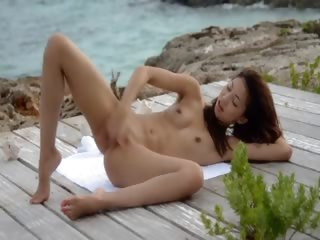 chinese angel teasing by the..