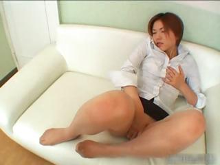 Sexy asian redhead..