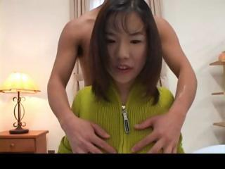 Busty asian gets penetrated..