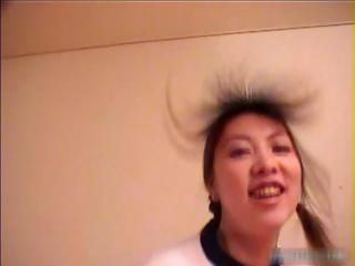 Horny asian schoolgirl..