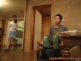 Horny japanese mature babes..