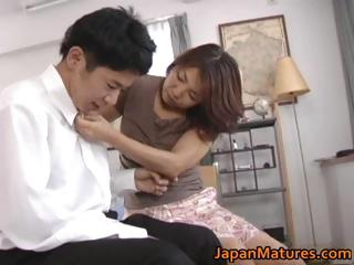 Horny japanese mature babes..