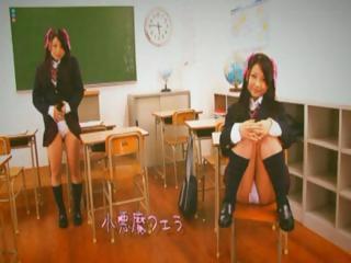 Japanese schoolgirl gets..