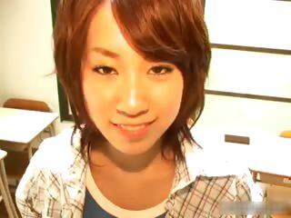 Japanese Yui Komiya having..
