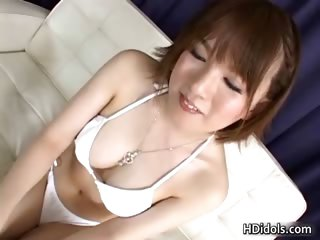 Hot asian idol Ryo Tsujimoto..