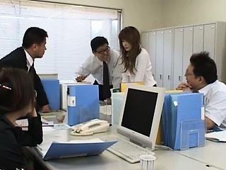 Asian secretary outsider..